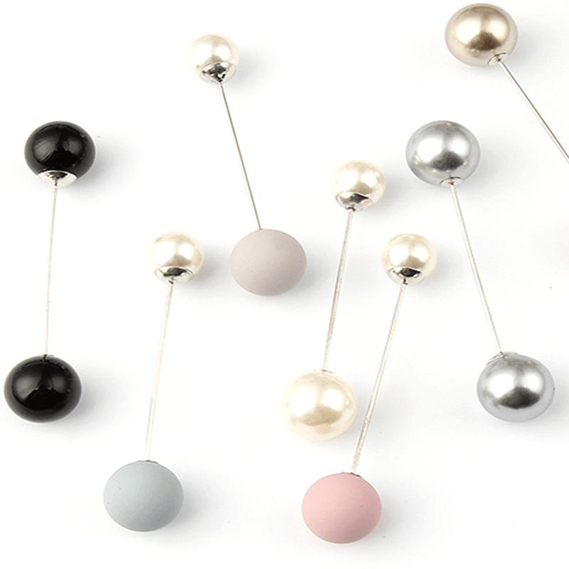 Double head pearl pin brooch buy online Axelles Fashion market