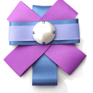 Bow & Tie Ribbon Brooch in Ultra Violet ACC_25C_color_01_brooch_01 white