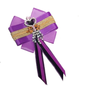 Unique Womans Bow Tie in Ultra Violet ACC_15A_color_01_brooch_02