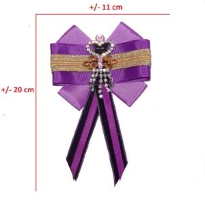 Unique Womans Bow Tie in Ultra Violet ACC_15A_color_01_brooch_02