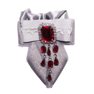Cloth tie chandelier Brooch ACC_03C_color_01_brooch_03