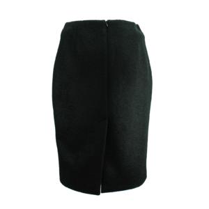 black premium woolen skirt buy online exclusive on www.axelles-fashion.com