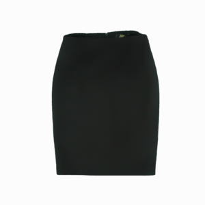 luxury Italian wool black skirt buy exclusive online www.axelles-fashion.com