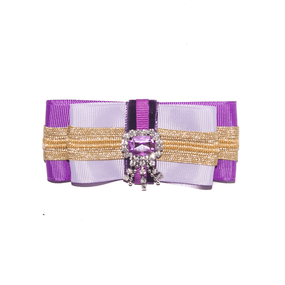 Stylish Jewel bow brooch in ultra violet lavender ACC_15B_color_01_brooch_03