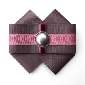 Pearl Pin Bow Brooch in Gray-Dahlia ACC_13_color_01_brooch_01 gray