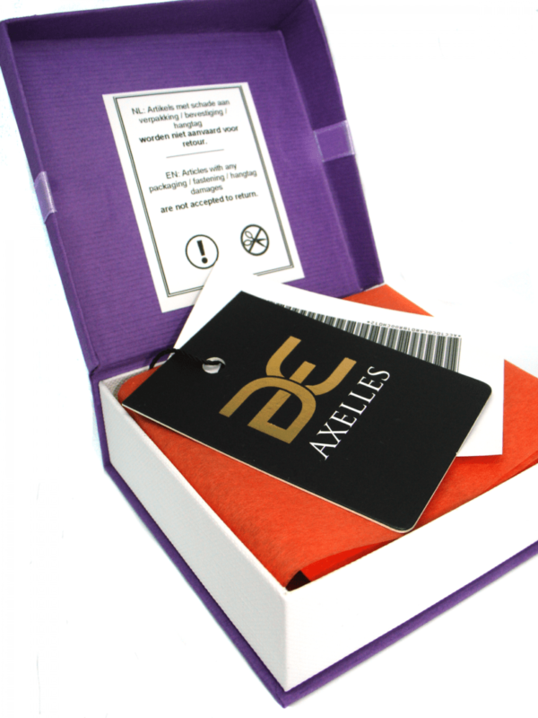 axelles ultra violet gift present box packaging
