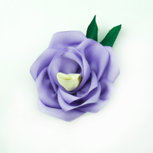 www.axelles-fashion.com violet lavender flower brooch