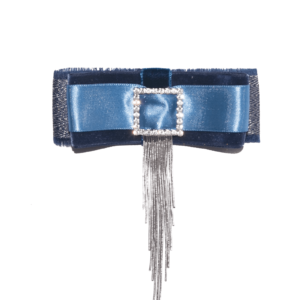 Blue-Silver Chandelier bow Brooch ACC_19B_color_01_brooch_03