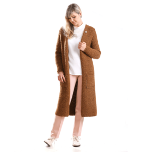 Alpaca Merino Wool Long Cardigan buy online www.axelles-fashion.com article K-2016-0001