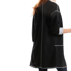 black oversize cardigan Jimmy buy online by axelles articule F-2016-0001