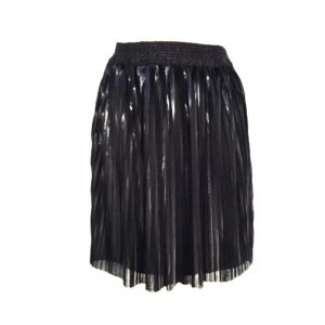 Minirok met plissé hoogglans effect buy exclusive online www.axelles-fashion.com ref C-2017-0003_plisee_skirt_short