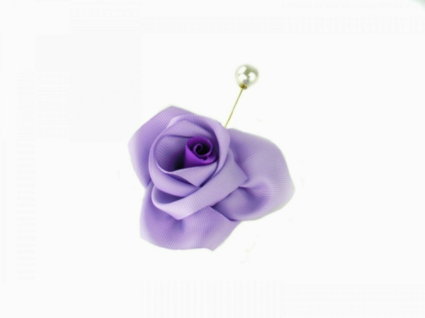 cloth flower lapel pin buy exclusive on www.axelles-fashion.com