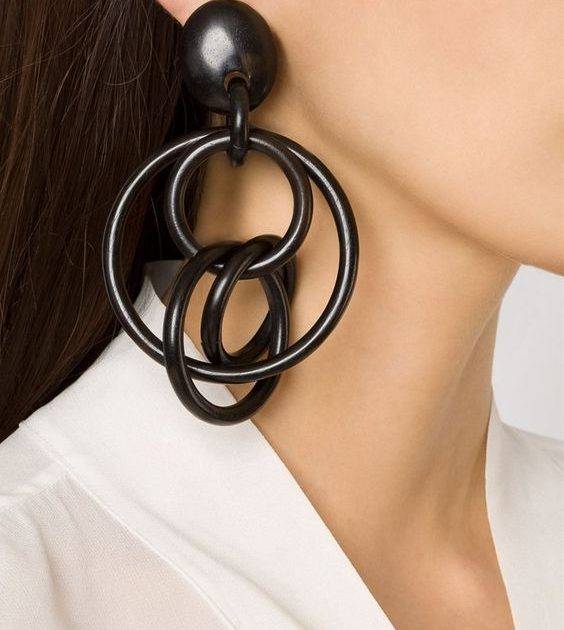 2019 best jewelry resin wood shell in fashion trend accessories earnings bugles buy on AXELLES