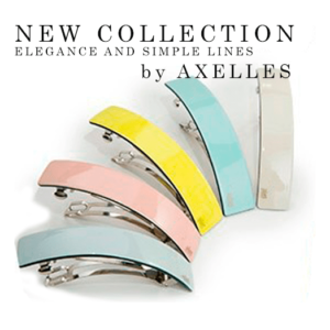 Luxury hair barrettes/haar clip, Handmade,Elegant,High Quality,eco-celluloseacetate new collection Accessories on www.axelles.be