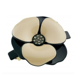 Luxury hair barrette with Camellia flower eco-friendly components Axelles