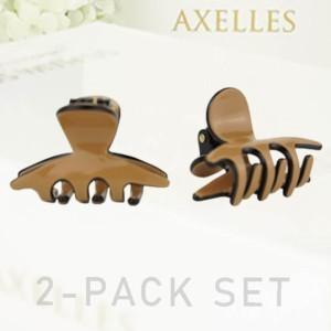 Luxe Haarklem, Sierklem Smal, 4cm, coffe bruin, in cadeaudoos, Axelles Fashion Haaraccessoires