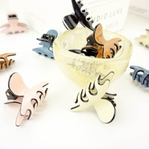 Luxury hair claw (Smal), 2-set. Luxe haarklem, sierklem smal in geschenkdoos, #AxellesFashion