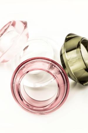 Transparent clear bracelet/bangle buy exclusive online www.axelles-fashion.com ref SM0101