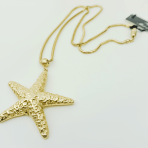 trendy Starfish necklace Ocean gold plated, designer, Axelles, buy, online, kopen, kupit www.axelles-fashion.com