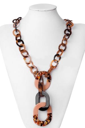 Multi shape chain necklace www.axelles-fashion.com