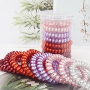 Silicone rubber hair rope elastic www.axelles-fashion.com ref 18029