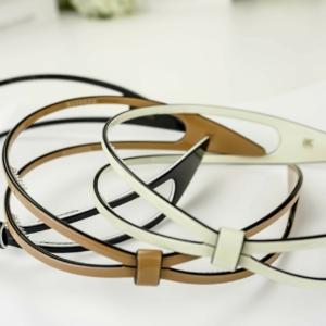 Luxe hairband 2-lines, (exclusief haarband in geschenkdoos),
