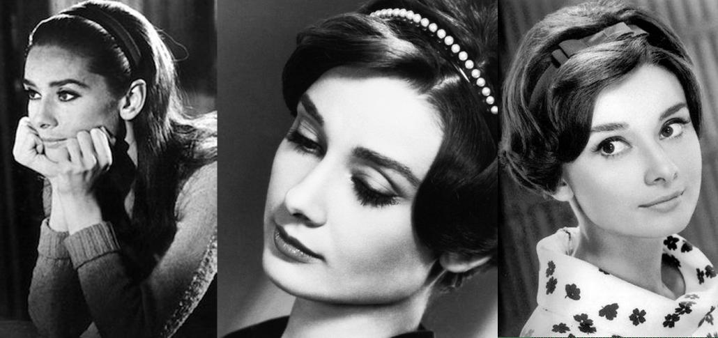 headband hairband hairstyle Audrey Hupburn 1970 fashion trend forecast by Axelles