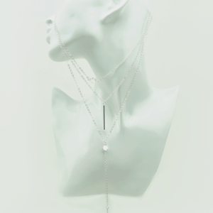 Trendy multilayer hanger necklace ketting buy online kopen on Axelles store