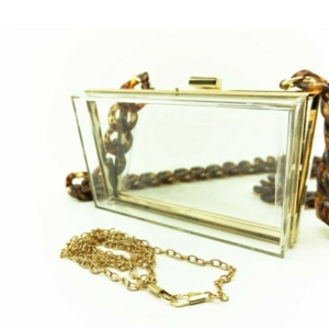 clear transparent lucite shoulder bag, handbags clutches buy on www.axelles-fashion