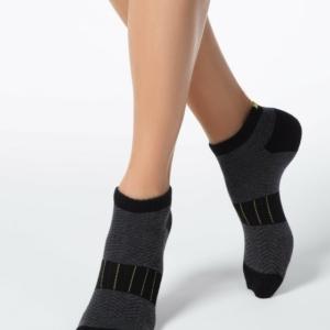 Damessokken Sport (badstof zool) / Women's socks anklets, terry foot, article-16C-92P (092), #Axelles-Fashion.