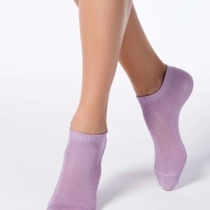 Damessokken glitter/lurex ACTIVE (anklets) / Women's anklets socks, article-17C-57CP (000), #Axelles, #AxellesFashion.