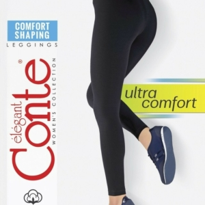 Corrigerende leggings hoge taille Ultra Comfort  Shaping / Modeling cotton leggings, nmodel: COMFORT SHAPING, article-17C-400TCP, #AxellesFashion.