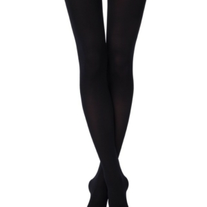 Panty's superdekking 200-DEN (MICRO-cotton)/Women's super opaque warm tights with cotton, 3D-effect, flat seam, cotton gusset, Model: MICROCOTTON 200-den, article-18C-70CP, #AxellesFashion