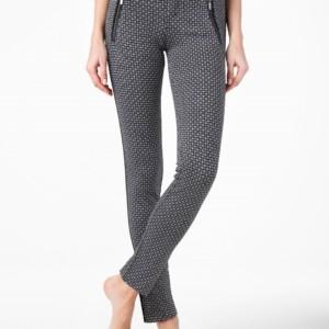 Slim-fit broek (leggings) ARKADIA / Women's pants (slimfit),Model: ARKADIA,Product ID: 14C-593LCP, #AxellesFashionx