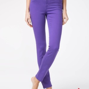 Dames jeans lilac (violet) CON-38V / Denim trousers women's pants Color: royal violet Product ID: CON-38V, #AxellesFashion