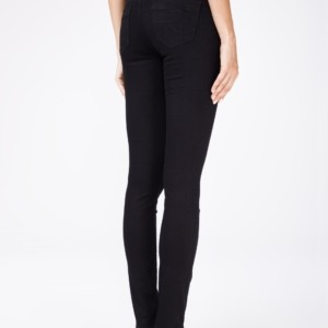 Dames jeans slim-fit (stretch)/Women's denim, trousers, lycra, article-CON-96,Color: black/zwart, lycra, stretch, #AxellesFashion