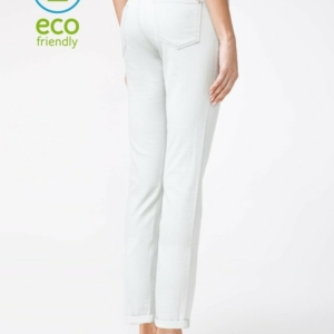Eco-Friendly, classic, dames, jeans, wit, ref.CON-129, Straight, Slim-fit-jeans, Modeling, Skinny, Regular, Spijkerbroeken, Stretchjeans, online-kopen, Eco-Friendly, AXELLES, #Axelles, #AxellesFashion