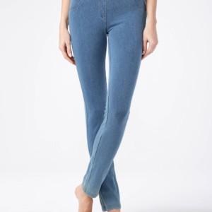 Jeggings/leggings denim look MUZA / Women's pants legging/jegging Model: MUZA,article-16C-175TCP, #AxellesFashion