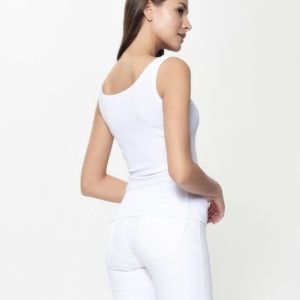 Top dames /women's top,wit,white,model LD 932,#Axelles