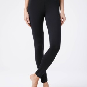 new line legging dames, zwart, #AxellesFashion