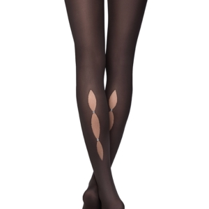 Ondoorschijnend panty matte-look 50 denier ((MAGIC), black, zwart, 16C-132CP