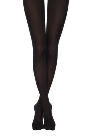 Superdikke panty's 3D-effect (TRIUMF 150), 8C-57CP, black, zwart