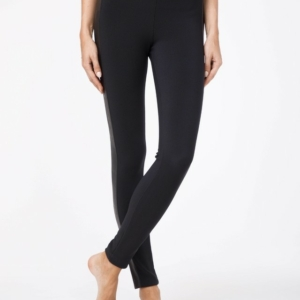 Dames leggings met bies / Women's pants with strip, Model: URBAN Product ID: 13C-527LCP, #AxellesFashion
