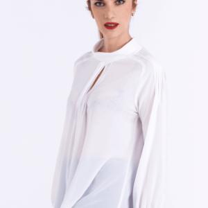 Beste Kokerrok woolblend met split | Axelles Fashion GG-54