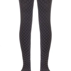 Kinderen maillot met geometrische figuren patroon,grijs, ref.454,Axelles-Fashion.com