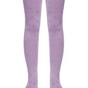 Kinderen maillot met sterren patroon (ingeweven), paars, buy, Axelles-Fashion