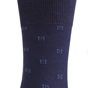 Herensokken klassiek fijn-patroon (3-paar), donkerblauw, details,18С-2160_168, Axelles