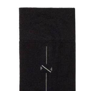 3-paar set Herensokken, zwart met fijne streep, 5С-08CP_005, details, Axelles-Fashion.