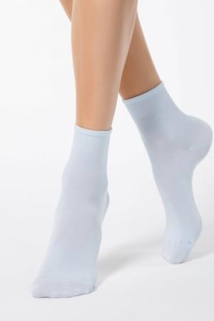 BAMBOE sokken effen klassiek, lichtblauw (000)