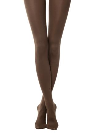 Panty's zijdezacht matt 120-Denier (ASTORI) marrone bruin